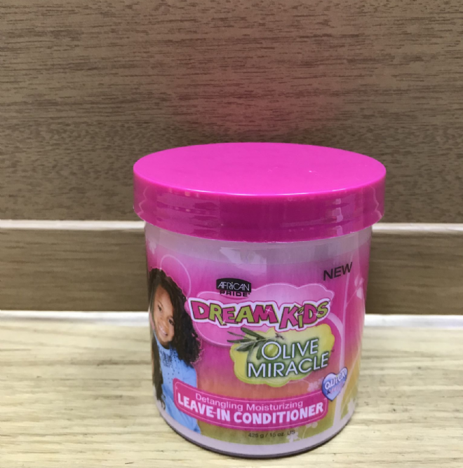 AFRICAN PRIDE DREAM KIDS OLIVE MIRACLE LEAVE-IN CONDITIONER  -425g